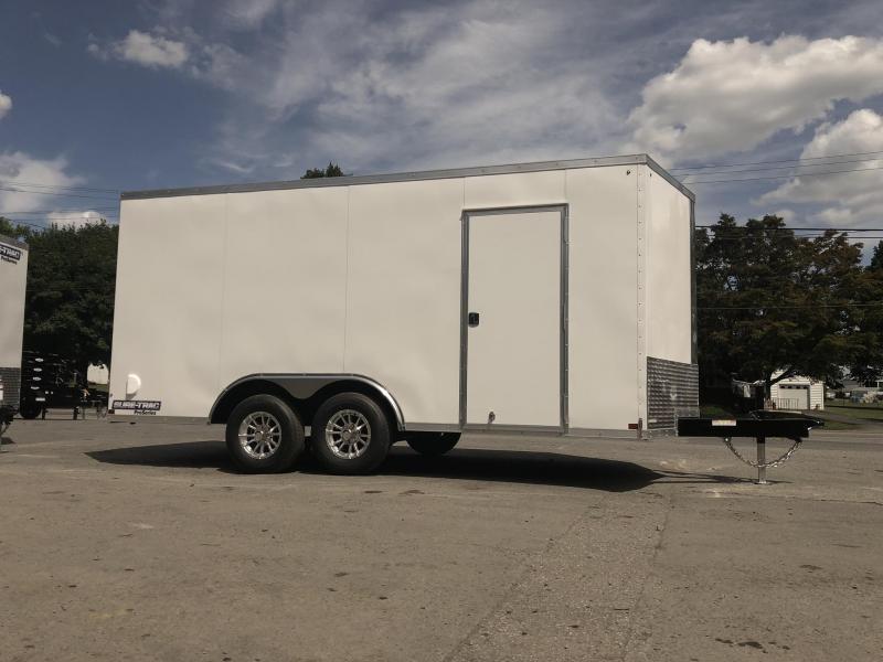 2019 Sure-Trac 8.5x16' Enclosed Cargo Trailer 9900# GVW * CHARCOAL * CONTRACTOR/LANDSCAPER TRAILER