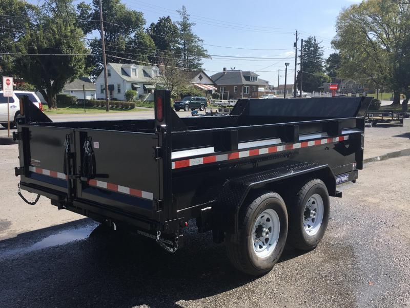 2018 Sure-Trac 7x12' HD LowPro Dump Trailer 12000# GVW - ST8212DD-B-120