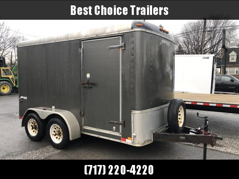 USED 2012 Homesteader 6x12' Tandem Axle 7000# Enclosed Cargo Trailer