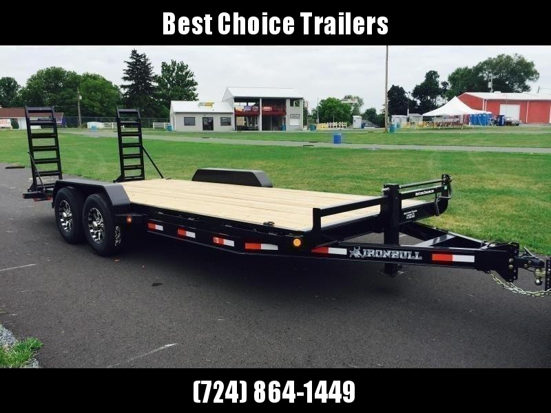 2019 Norstar Ironbull 7x18' Equipment Trailer 14000# GVW * STAND UP RAMPS