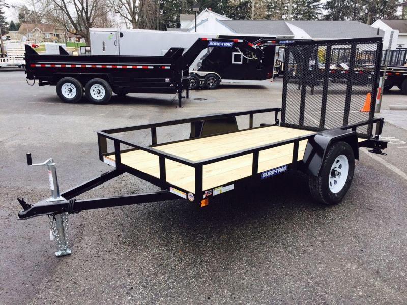 2019 Sure-Trac 6x10' Angle Iron Utility Trailer 2990# GVW