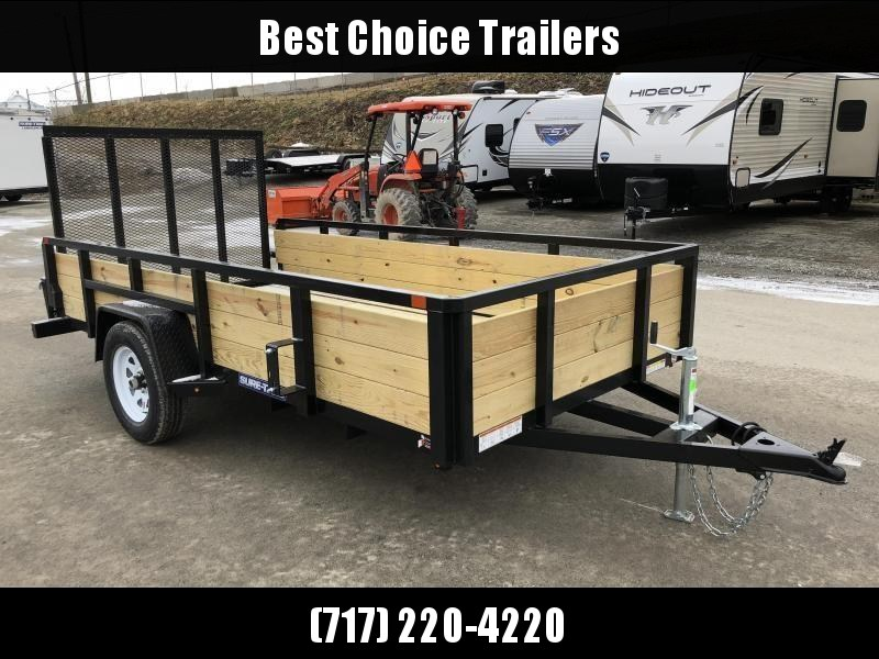 2018 Sure-Trac 6x12' Tube Top 3-Board High Side Utility Landscape Trailer 2990# GVW