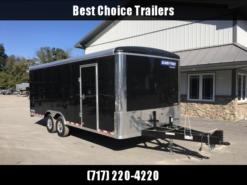 2018 Sure-Trac 8.5x20' Enclosed Landscape Trailer 9900# GVW - TONS OF OPTIONS in PA