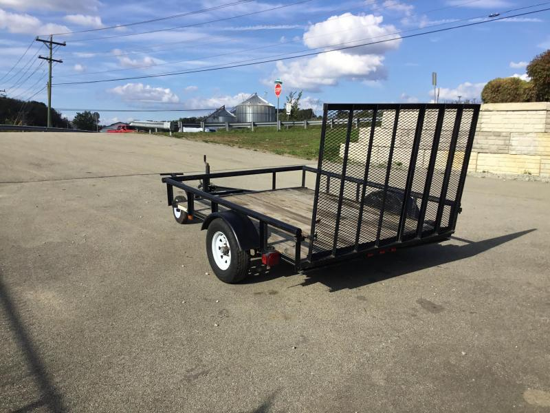 USED 2012 Carry-On 6x8' 2990# Utility Landscape Trailer * GATE * PIPE TOP
