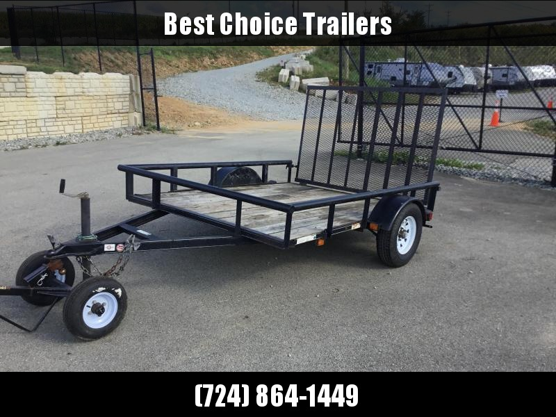 USED 2012 Carry-On 6x8' 2990# Utility Landscape Trailer
