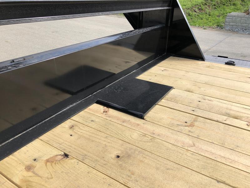 """2019 Ironbull 102x24' Gooseneck Car Hauler Equipment Trailer 14000# GVW * 102"""" Deck * Drive Over Fenders * FULL WIDTH RAMPS"""