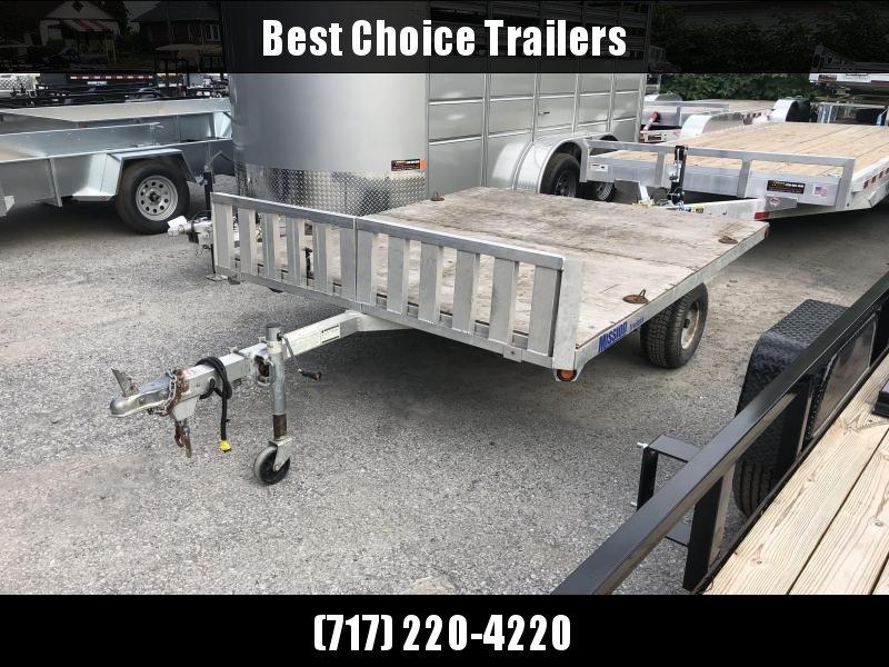 USED 2008 Mission Deckover Sled/ATV ATV Trailer