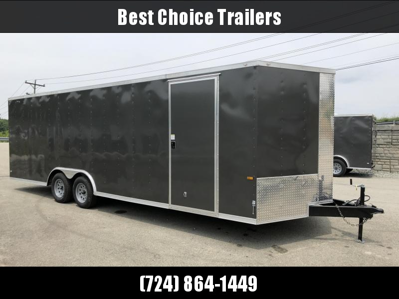 2018 Rock Solid 8.5x24' Enclosed Car Trailer 7000# GVW