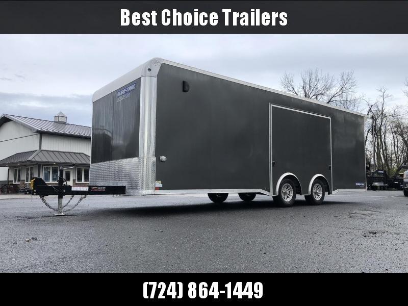 2019 Sure Trac Racing Pro Enclosed Car Hauler Trailer * CBNRP10224TA-100 * NEW MODEL * LOADED * FULL ESCAPE HATCH