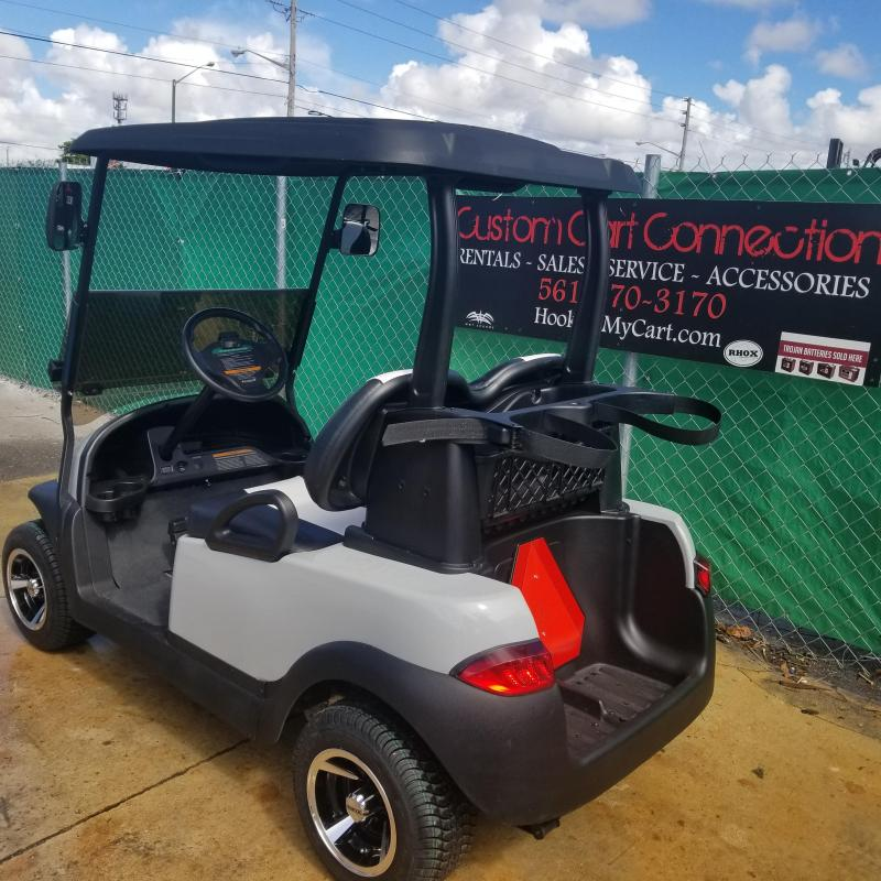 Gray 2016 Club Car Precedent With High Speed Code