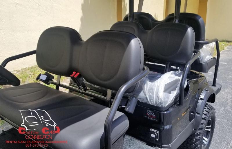2019 ICON i60L Black Lifted Golf Cart