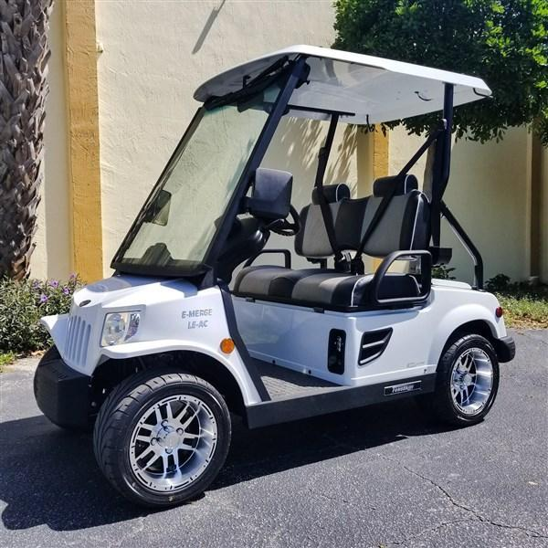 2019 WHITE TOMBERLIN E-MERGE E2 LE PLUS with POWER STEERING