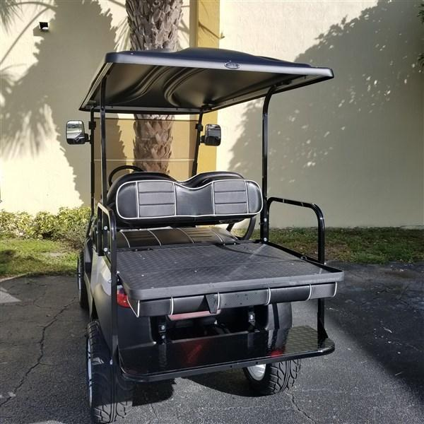 "2015 PEARL WHITE Club Car Precedent Golf Cart with 6"" A-ARM LIFT (High Speed Code 20 MPH)"