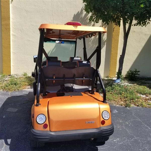 2019 Orange Tomberlin E-Merge E4 LE PLUS with Power Steering
