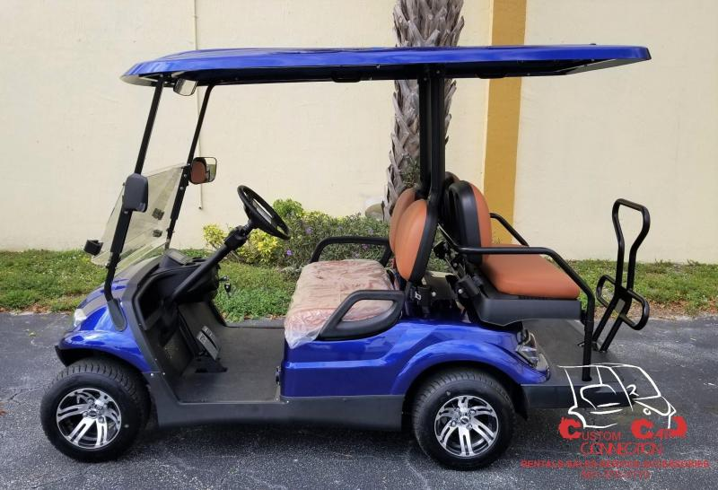 2019 ICON  I40 GOLF CART 25+ MPH