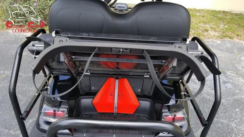 2019 ICON i40 Indigo Blue Golf Cart with Custom Seats