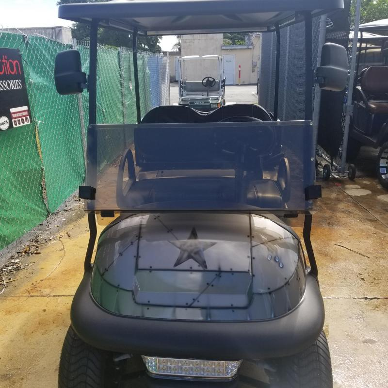Custom Airbrushed Club Car Precedent with lots of Upgrades
