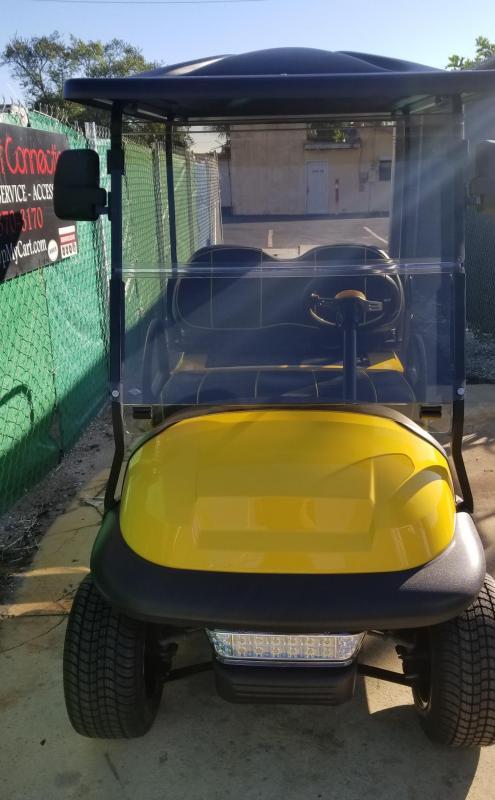 2016 Yellow/Black Club Car Precedent Golf Cart