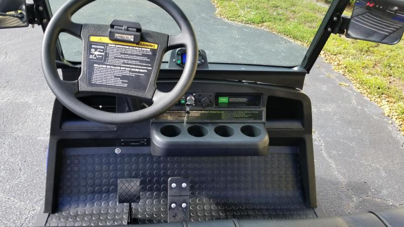 2019 Midnight Blue Tomberlin E-Merge E2 Revenge Golf Cart