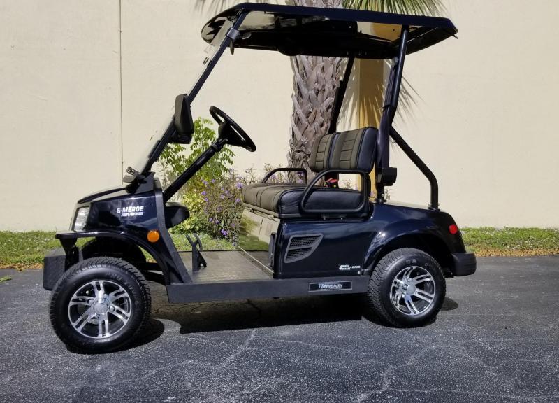 2019 Black Tomberlin E-Merge E2 Revenge Golf Cart