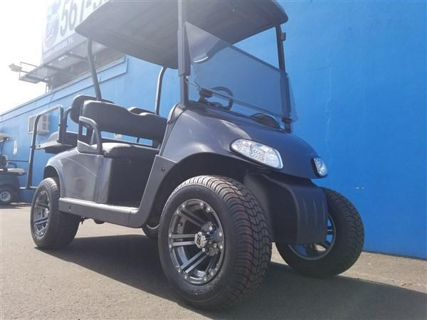 2014 EZ GO RXV Gunsmoke Grey Golf Cart 23 MPH