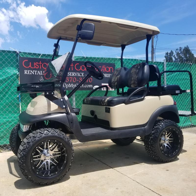 "Club Car Precedent Golf Cart with 6"" A-ARM LIFT (High Speed Code 20 MPH)"