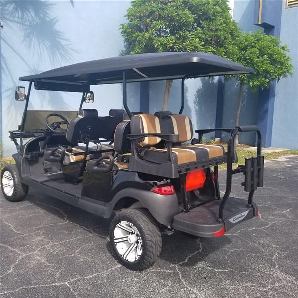 Custom 2016 Club Car Precedent 6 passenger EFI Fuel Injected Gas Cart