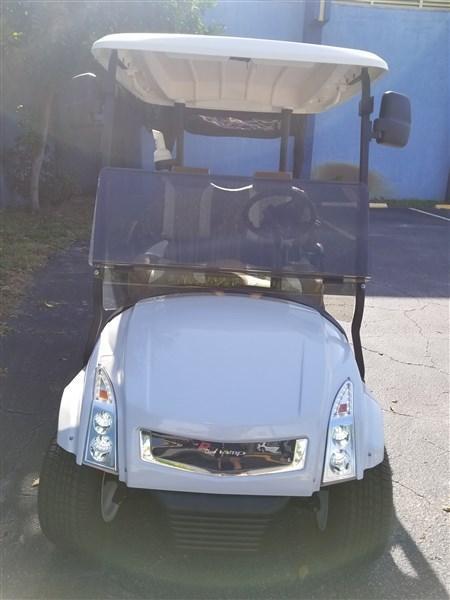 CLUB CAR PRECEDENT GOLF CART CADDY STYLE