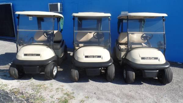 AS-IS WHOLESALE GOLF CARTS