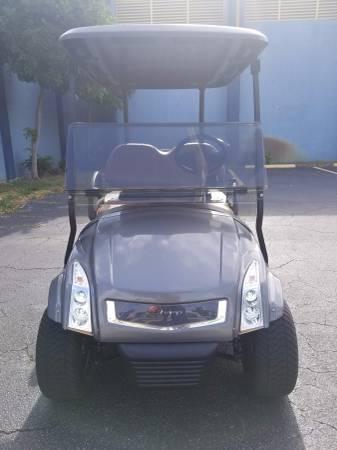 2014 Club Car Precedent Golf Cart Gray R Champ Body