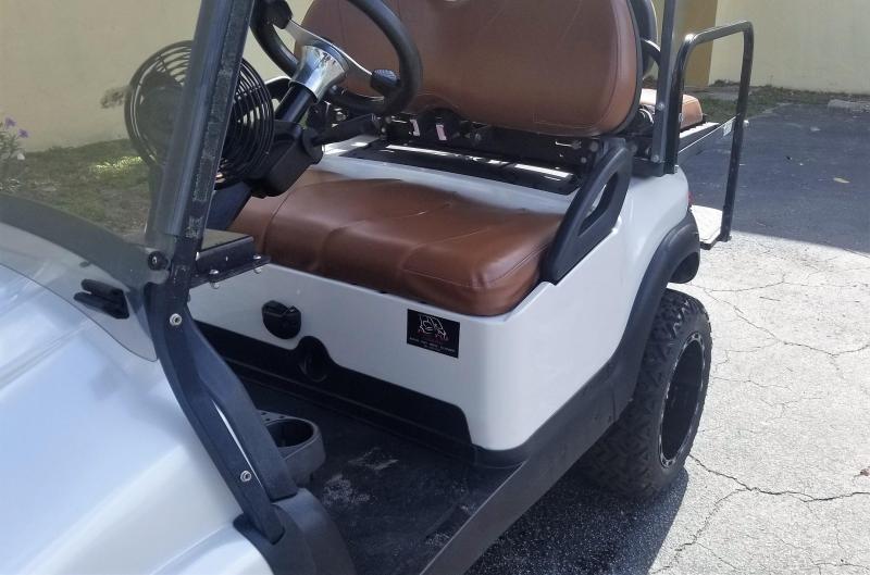 2011 Club Car Precedent Golf Cart with White Phantom Body