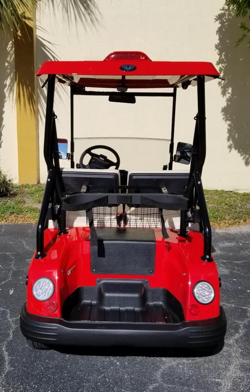 2019 Red Tomberlin E-Merge E2 Revenge Golf Cart