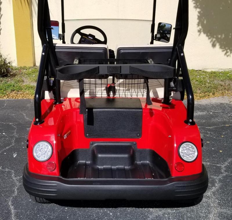 2019 Red Tomberlin E-Merge E2 Revenge Golf Cart