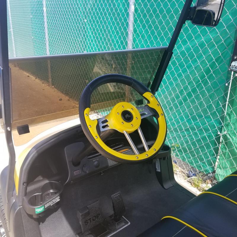 2016 Club Car Precedent Yellow & Black