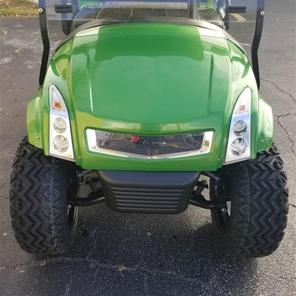 Club Car Precedent Golf Cart with LIME GREEN R Champ Body Kit