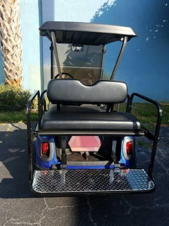 2013 Blue E-Z-GO RXV Golf Cart High Speed 22 MPH Financing Available