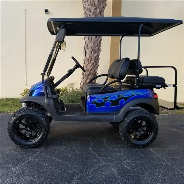 CLUB CAR PRECEDENT ELECTRIC CUSTOM BUILT GOLF CART