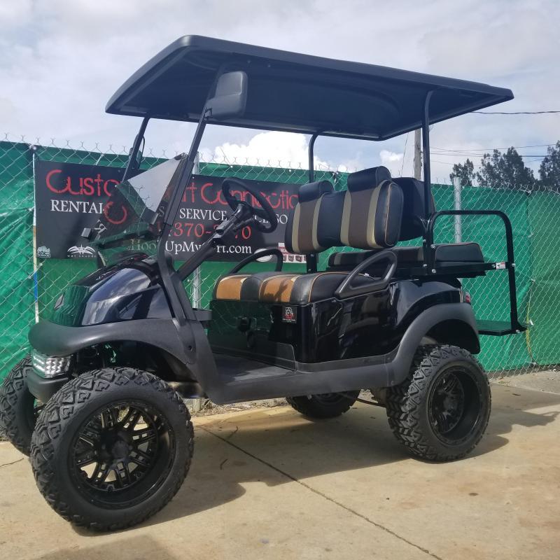 Custom Club Car PRECEDENT Golf Cart Remanufatured in 2018 using a 2016 Club Car Frame **LOTS OF UPGRADES**