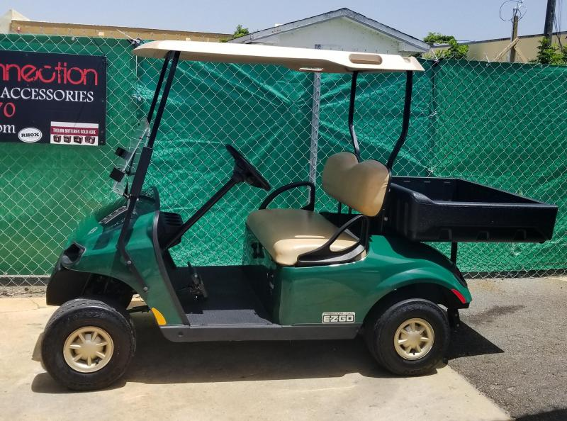 2016 E-Z-GO TXT Golf Cart w/Cargo Box