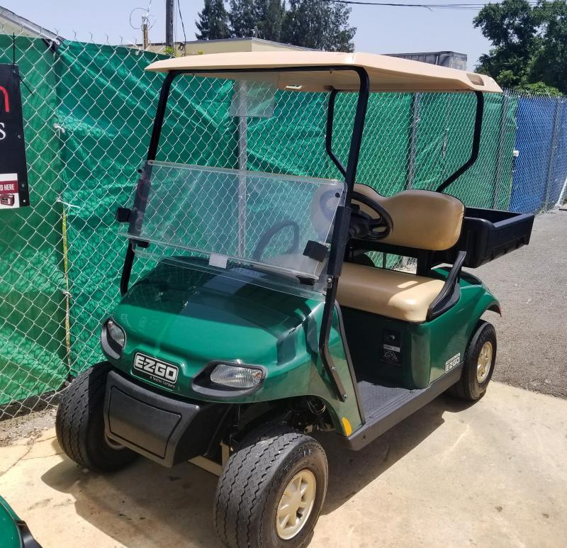 2016 E-Z-GO TXT Golf Cart w/Cargo Box
