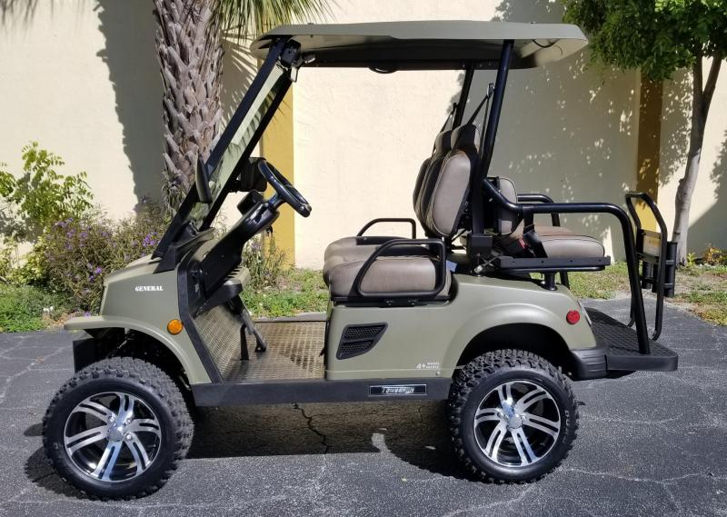 2020 Tomberlin E-MERGE E2 LE Plus/General Edition Golf Cart