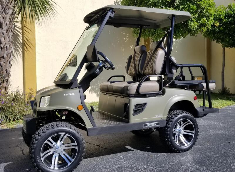 2019 Tomberlin E-MERGE E2 LE Plus/General Edition Golf Cart