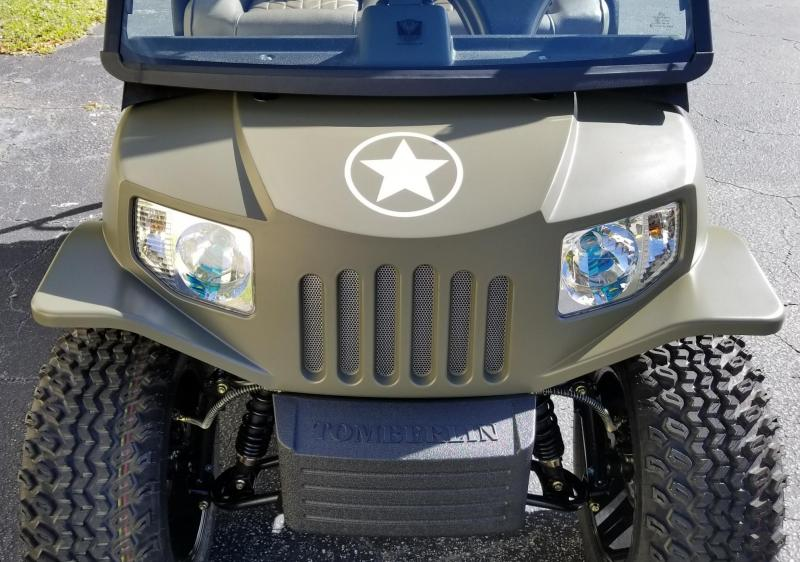 2019 Tomberlin E-MERGE E2 LE Plus/General Edition Golf Cart