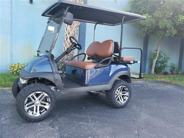 2016 *Custom* Club Car Precedent gas Fuel Injected EFI Golf Cart 25MPH+