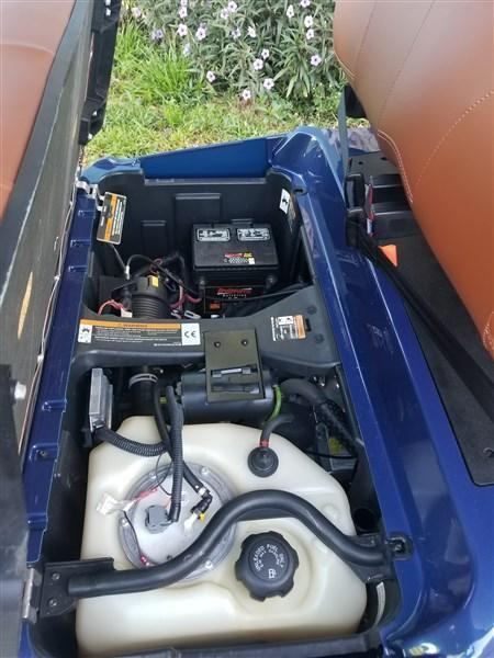 2016 *Custom* Club Car Precedent gas Fuel Injected EFI Golf Cart 25MPH+