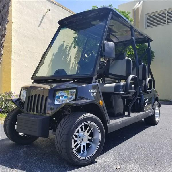 2019 BLACK TOMBERLIN E-MERGE E-4 LE PLUS with POWER STEERING