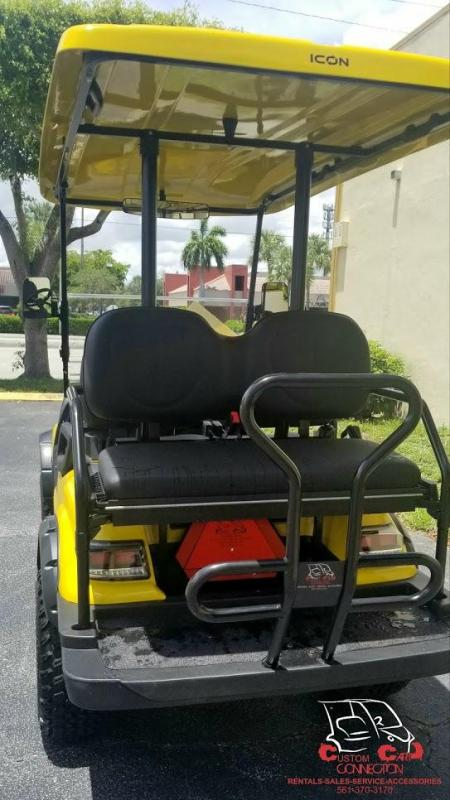 2019 ICON Yellow i40L Golf Cart