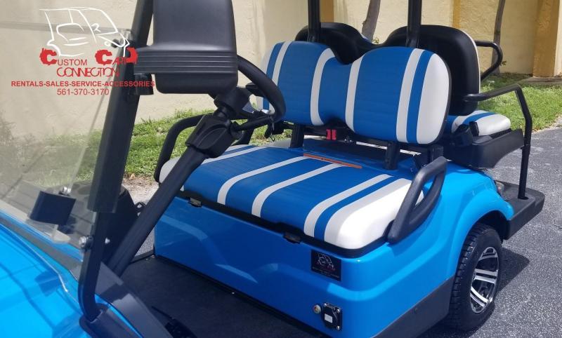 2019 ICON i40 Caribbean Blue Golf Cart