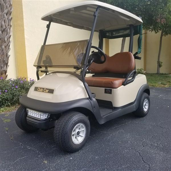 2015 Club Car Precedent Golf Cart Ready for the Course