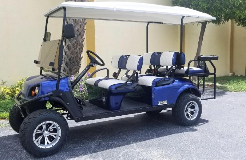 2017 E-Z-GO L6 Express Golf Cart Street Legal